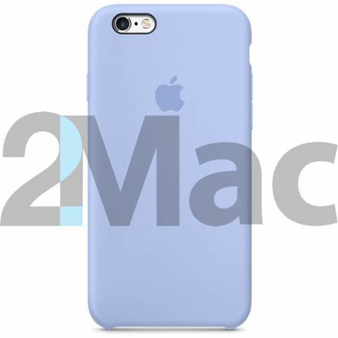 Силиконовый чехол silicon case для iPhone 6 Plus цвета Liliac cream