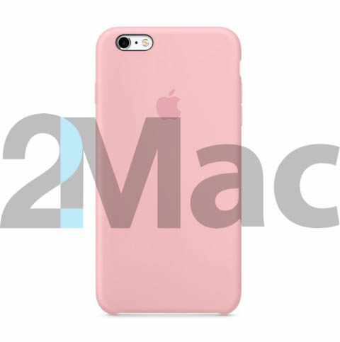Силиконовый чехол silicon case для iPhone 6S Plus цвета Pink