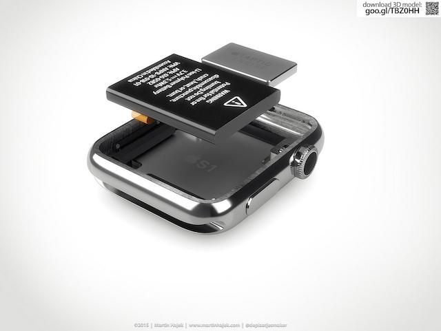 Аккумулятор на Apple Watch