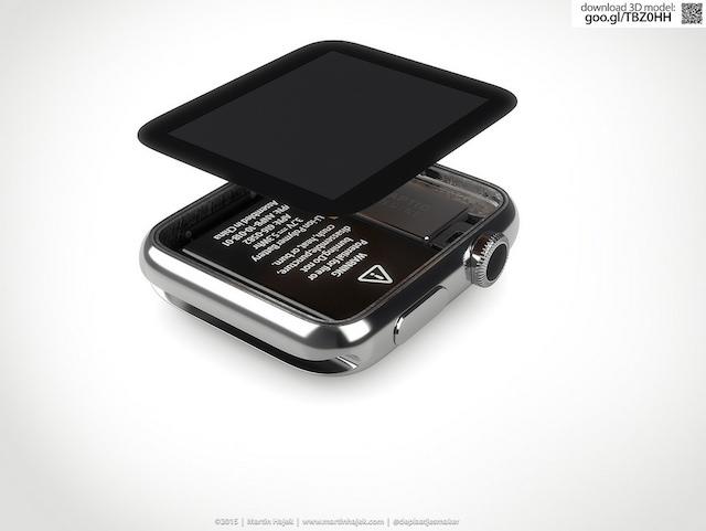 Дисплей на Apple Watch