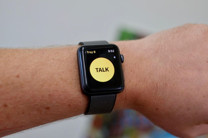 Walkie Talkie на Apple Watch