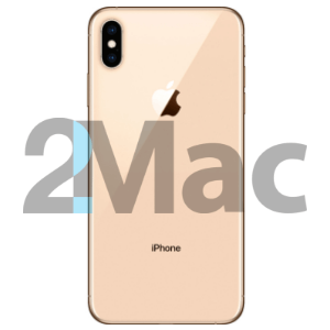 Корпус iPhone XS Gold