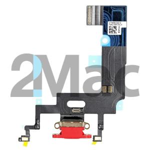 Шлейф (порт) зарядки и синхронизации iPhone XR с нижними микрофонами