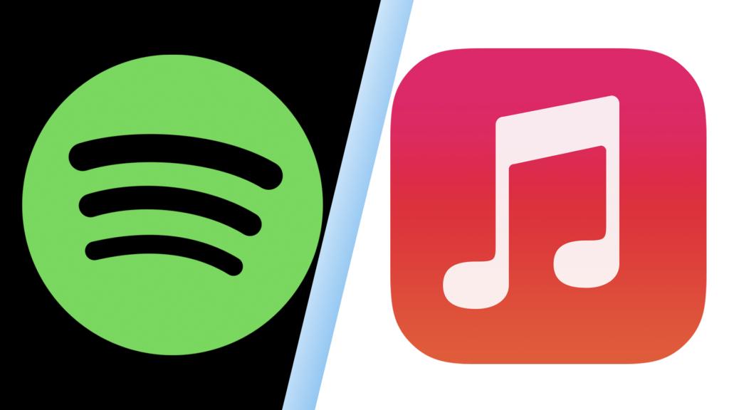 Сравнение Apple Music и Spotify