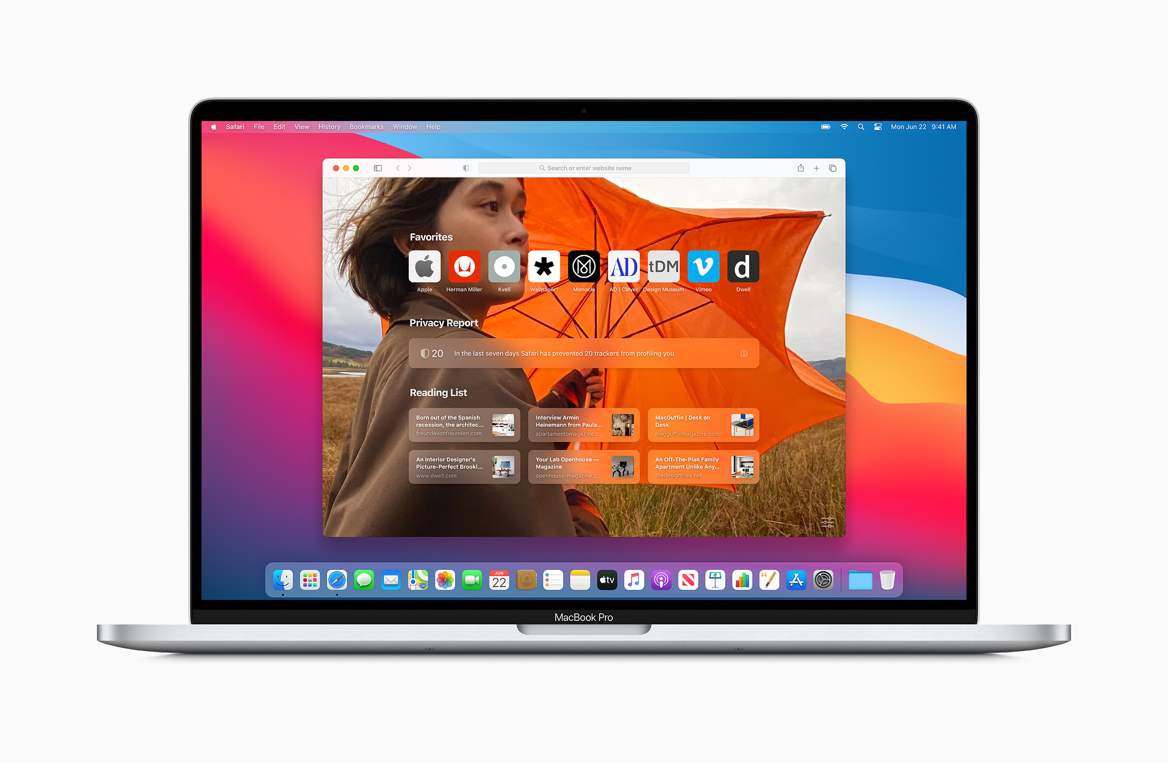 Safari на macOS Big Sur