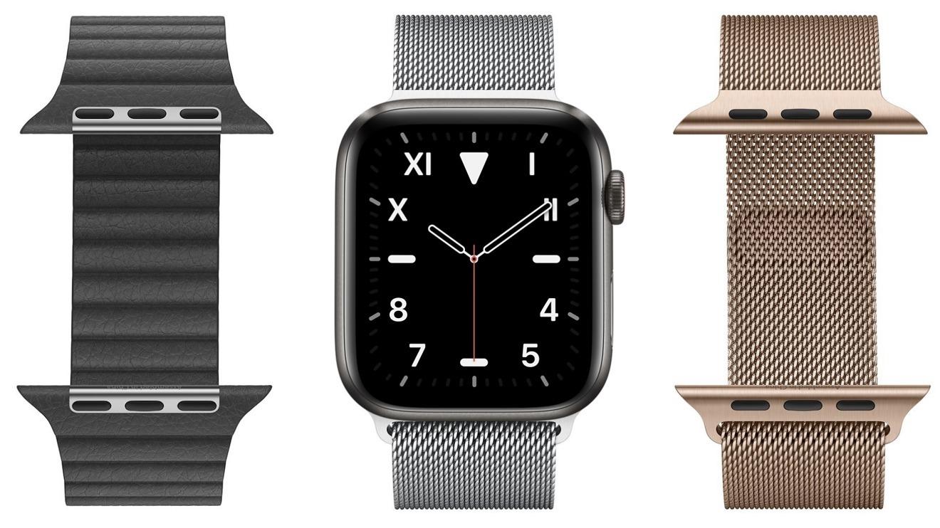 Apple Watch с ремешками