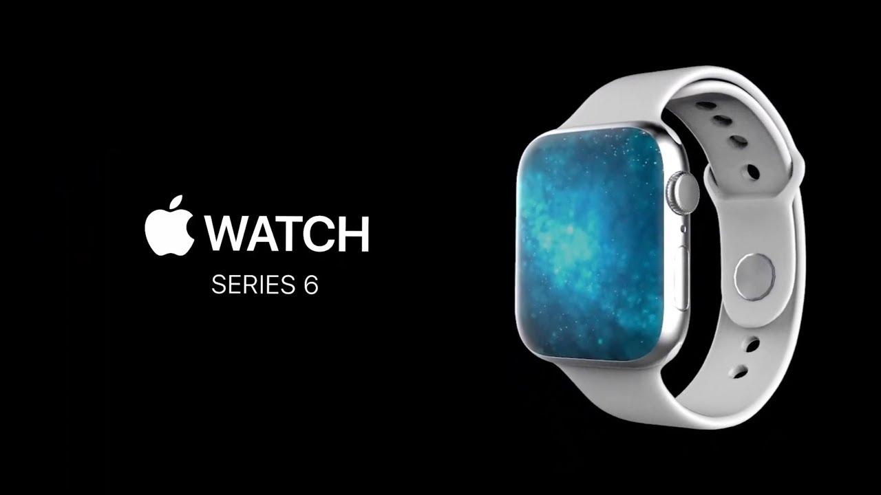 Возможный вид Apple Watch 6